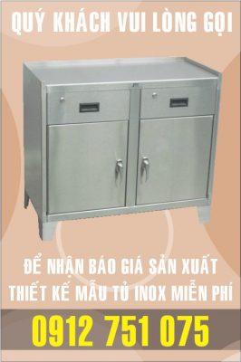 tu benh vien 266x400 - Tủ inox nhà bếp