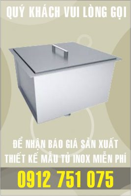 tu dung da inox 267x400 - Tủ giường bệnh inox