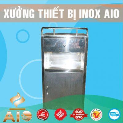 tu inox giuong benh 400x400 - Tủ giường bệnh inox
