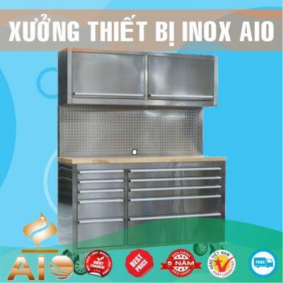 tu nha bep inox 400x400 - Tủ inox nhà bếp