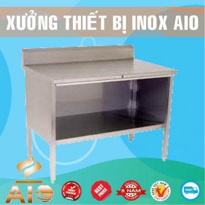 tu quay bar inox 400x400 - Tủ inox nhà bếp