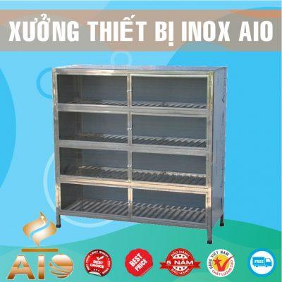 tu trung bay inox 400x400 - Tủ inox nhà bếp