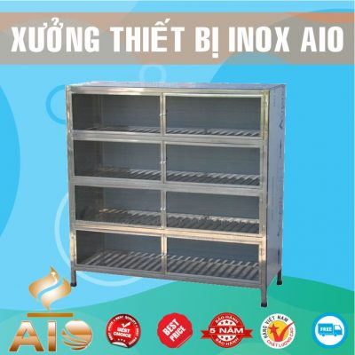 tu trung bay inox 400x400 - Tủ bar inox