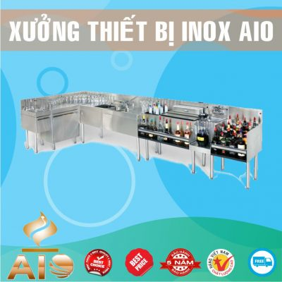 xuong lam quay bar inox 400x400 - Tủ bar inox