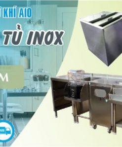 xuong lam tu inox gia re 247x296 - Tủ inox có chậu rữa và bàn sơ chế