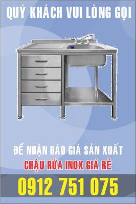 ban bon rua inox 266x400 - Bồn rửa inox khách sạn