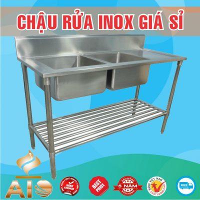 ban chau rua inox gia re 400x400 - Bồn rửa inox có tủ