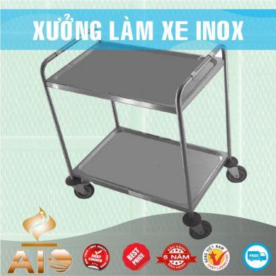 ban xe inox gia re 400x400 - Xe đẩy inox dùng trong nhà hàng