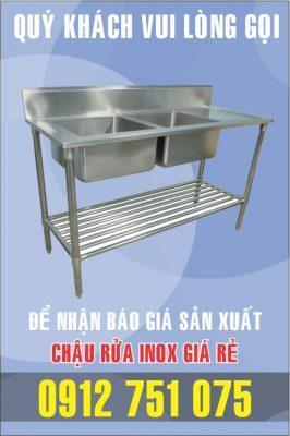 bon rua inox doi gia si 266x400 - Bồn rửa mặt inox