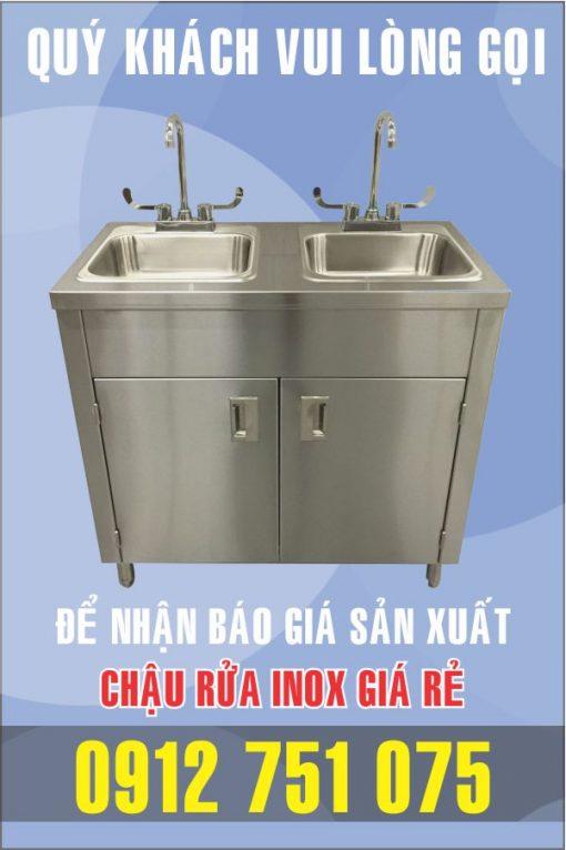 bon rua inox tu 510x766 - Bồn rửa inox có tủ