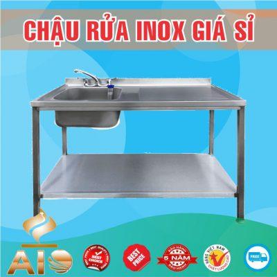 chau rua inox 400x400 - Bồn rửa inox bệnh viện