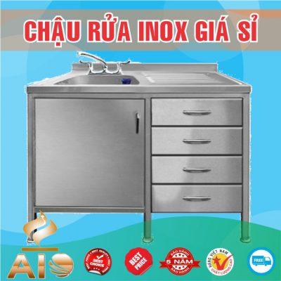 chau rua inox co tu phai 400x400 - Bồn rửa inox khách sạn
