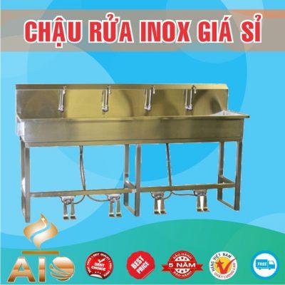 chau rua inox dap chan gia re 400x400 - Bồn rửa mặt inox