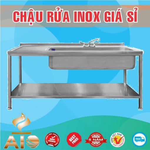 chau rua inox doi lien 510x510 - Chậu rửa inox nhà hàng