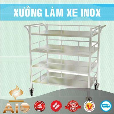 chuyen lam xe inox gia re 400x400 - Xe đẩy inox dùng trong nhà hàng