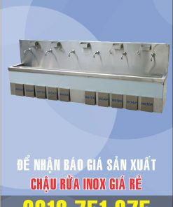 lam bon rua inox dap chan 247x296 - Chậu rữa inox công nghiệp