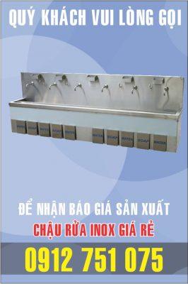 lam bon rua inox dap chan 266x400 - Bồn rửa inox có tủ