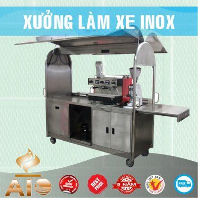 xe ban coffee 400x400 - Xe đẩy inox dùng trong nhà hàng