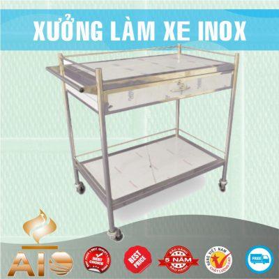 xe day co hoc 400x400 - Xe đẩy inox dùng trong nhà hàng