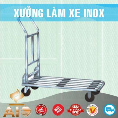 xe day hang inox 400x400 - Xe đẩy inox dùng trong nhà hàng