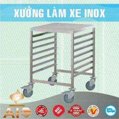 xe day khay com 400x400 - Xe đẩy nhiều khay dùng trong ngành thực phẩm