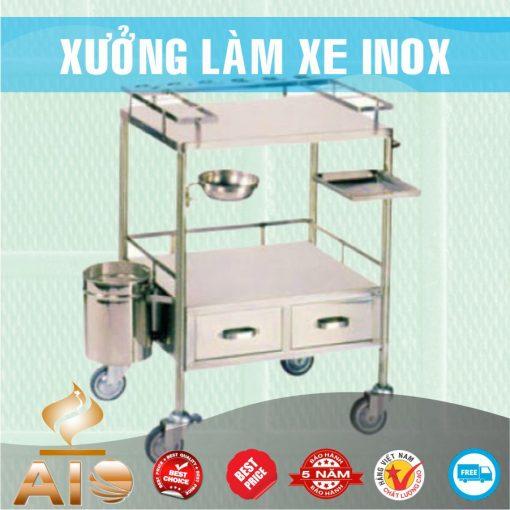 xe day thuoc inox 510x510 - Xe inox dùng trong spa