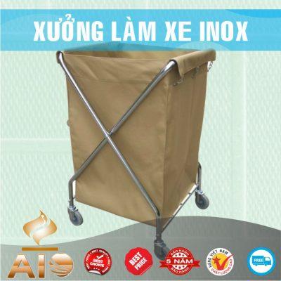 xe dung do do 400x400 - Xe đẩy inox dùng trong nhà hàng