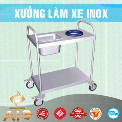 xe inox gia re 400x400 - Xe đẩy inox dùng trong nhà hàng