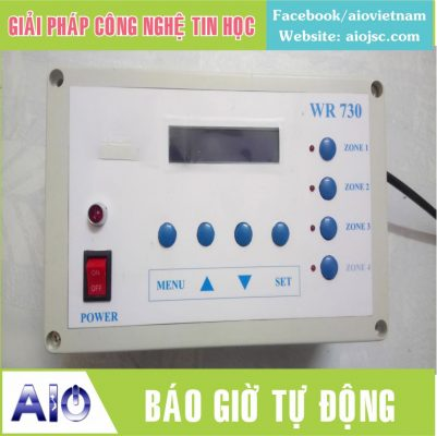 chuong bao gio tu dong 401x400 - Máy chấm công vân tay Mita 7789