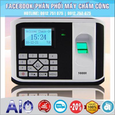 chuyen may cham cong 400x400 - Máy chấm công vân tay Mita 7789