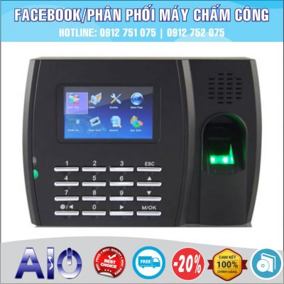 may cham cong chat luong 400x400 - Máy chấm công Gigata SC700
