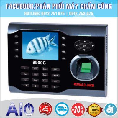 may cham cong chinh hang 400x400 - Máy chấm công vân tay Mita 7789