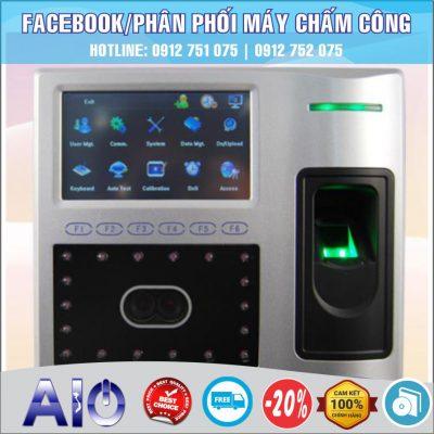 may cham cong nhan dien khuon mat 400x400 - Máy chấm công vân tay Mita 7789