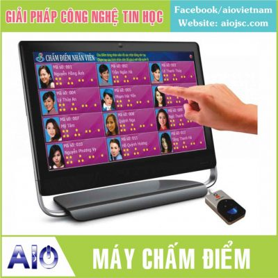 may cham diem nhan vien 400x400 - Làm bảng led điện tử giá rẻ