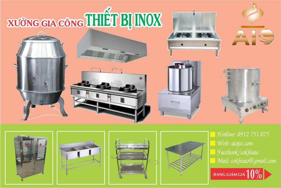 bep nha hang nha be - Chuyên làm inox,thiết bị bếp nhà hàng tại Nhà Bè