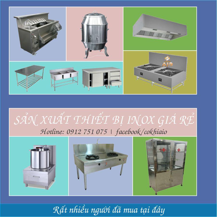 chuyen lam hang inox - Nhận gia công inox,thiết bị bếp nhà hàng