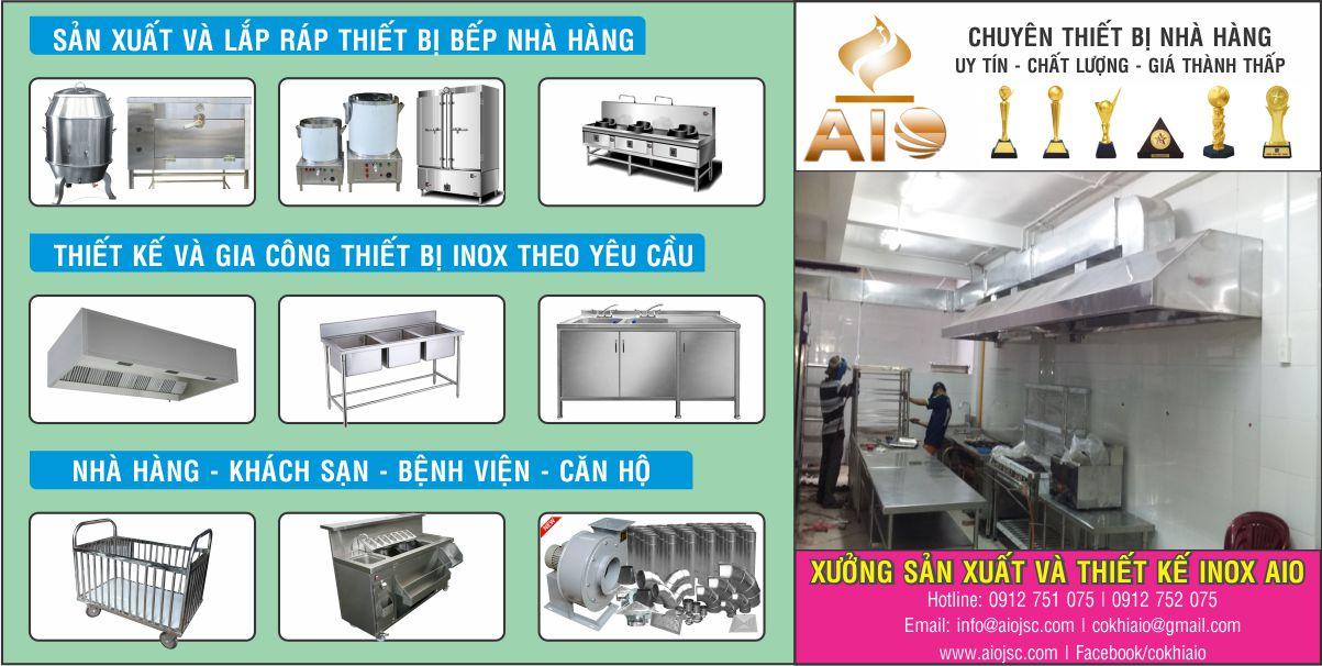chuyen thiet bi nha hang - Thiết kế và sản xuất thiết bị nhà hàng, thiết bị inox