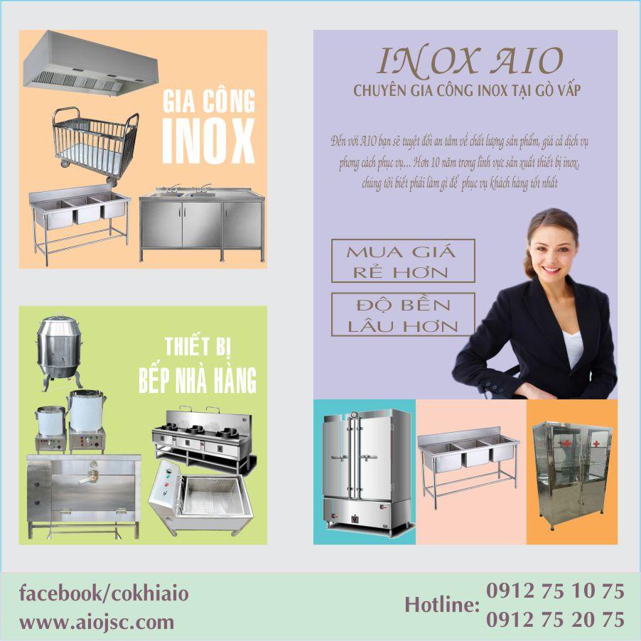 cua hang inox go vap - Địa chỉ chuyên kinh doanh thiết bị nhà hàng - bếp nhà hàng tại Gò Vấp