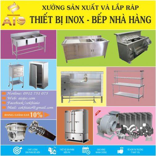 lam inox 505x505 - Nhận gia công inox,thiết bị bếp nhà hàng