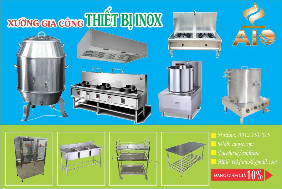 lam inox cu chi - Cung cấp thiết bị nhà hàng, gia công inox tại Củ Chi