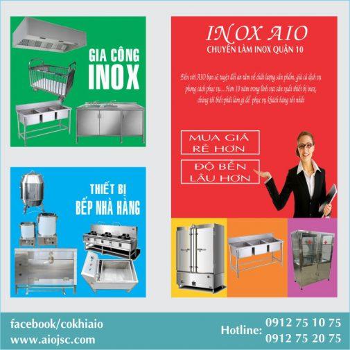 lam inox gia re quan 10 505x505 - Gia công inox, thiết kế bếp nhà hàng quận 10