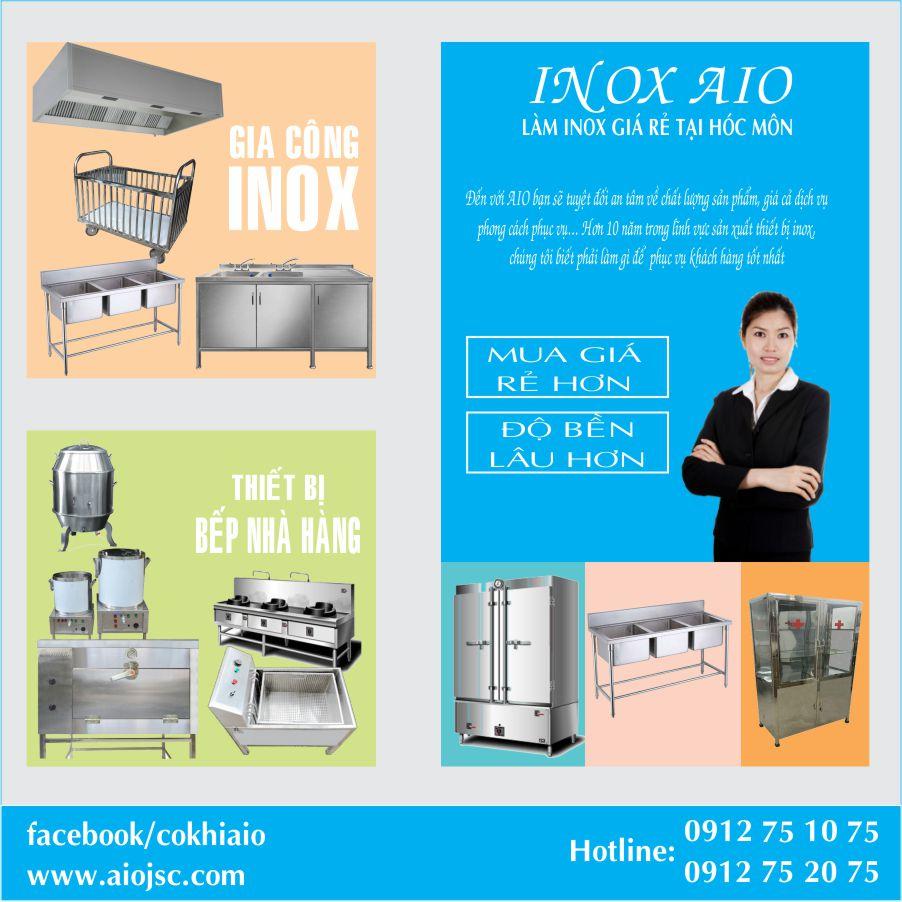 thiet bi nha hang hoc mon - Chuyên gia công hàng inox,thiết bị bếp giá rẻ tại Hóc Môn