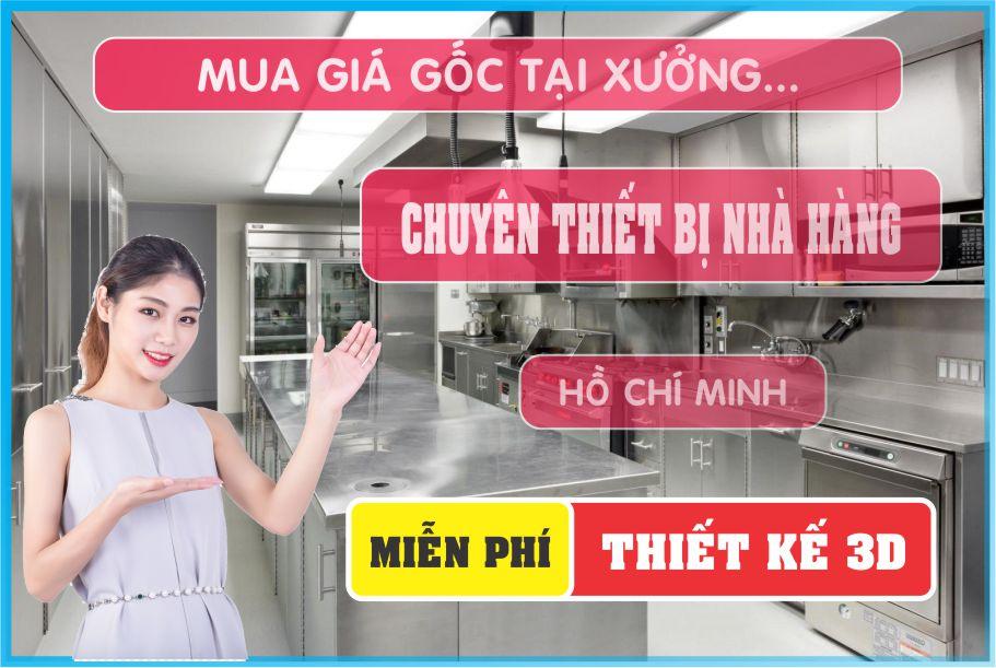thiet ke nha hang - Bán thiết bị bếp nhà hàng giá rẻ tại Hồ Chí Minh
