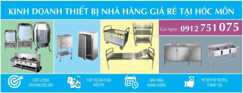 xuong inox hoc mon 800x306 - Chuyên gia công hàng inox,thiết bị bếp giá rẻ tại Hóc Môn