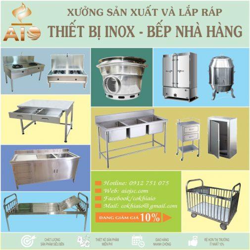 xuong lam inox tan binh 505x505 - Bán thiết bị bếp nhà hàng,gia công inox quận Tân Bình