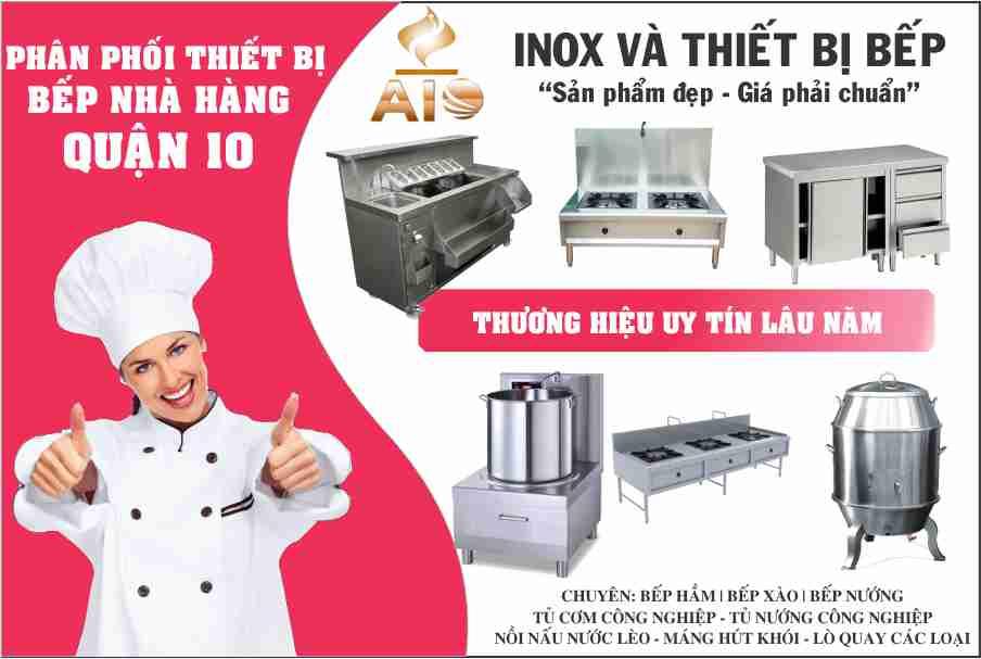xuong lam thiet bi nha hang - Chuyên làm thiết bị inox nhà hàng khách sạn quận 10