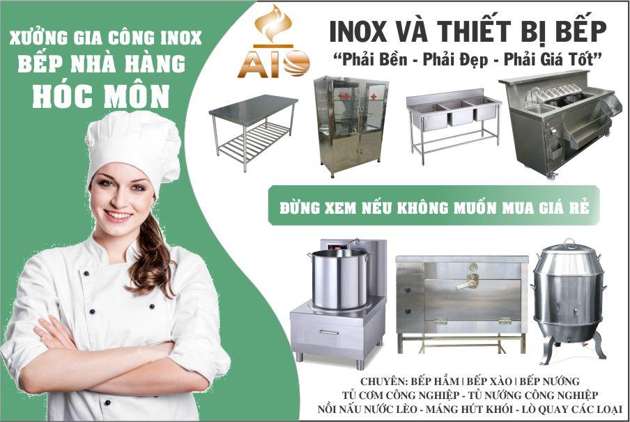 chuyen thiet bi nha hang 1 - Thiết kế và lắp đặt thiết bị nhà hàng, gia công inox tại Hóc Môn