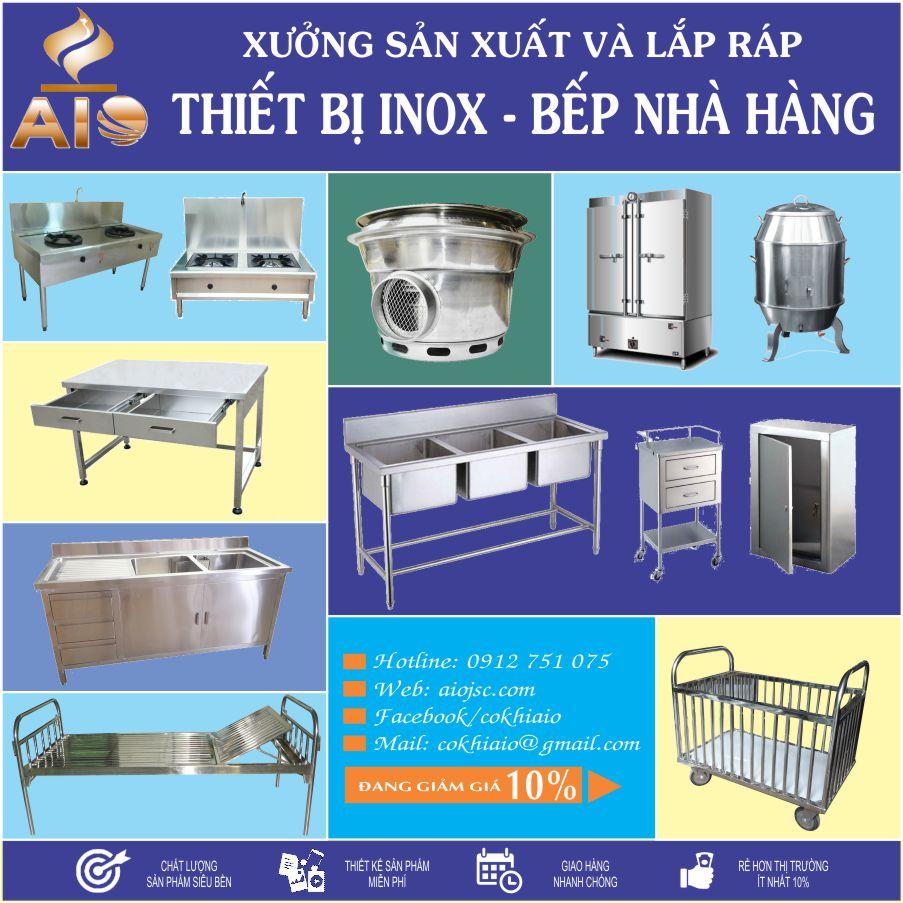 lam inox gia re tan phu - Công ty chuyên cung cấp thiết bị nhà hàng giá rẻ tại Tân Phú