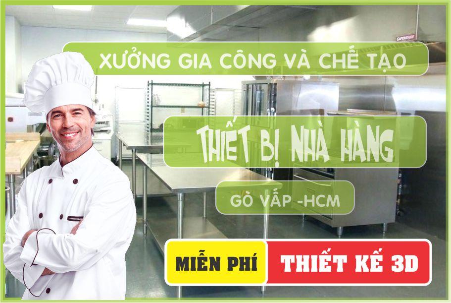 chuyen thiet ke lap dat thiet bi nha hang - Cung cấp thiết bị nhà hàng tại Tân Bình