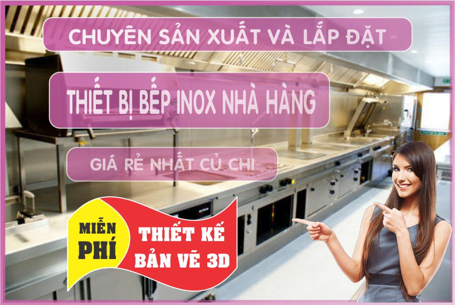 chuyen thiet ke nha hang 2 - Bán thiết bị bếp nhà hàng giá rẻ tại Hồ Chí Minh